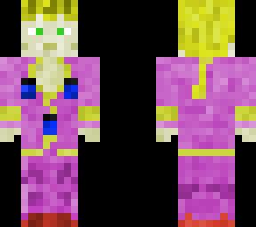 Giorno Giovanna | Minecraft Skin