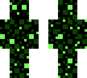 glitch slime (green pixel special effects)