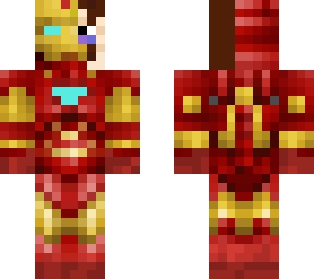 beat-up and half unmasked iron man