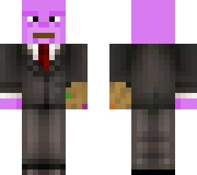 thanos in a suit